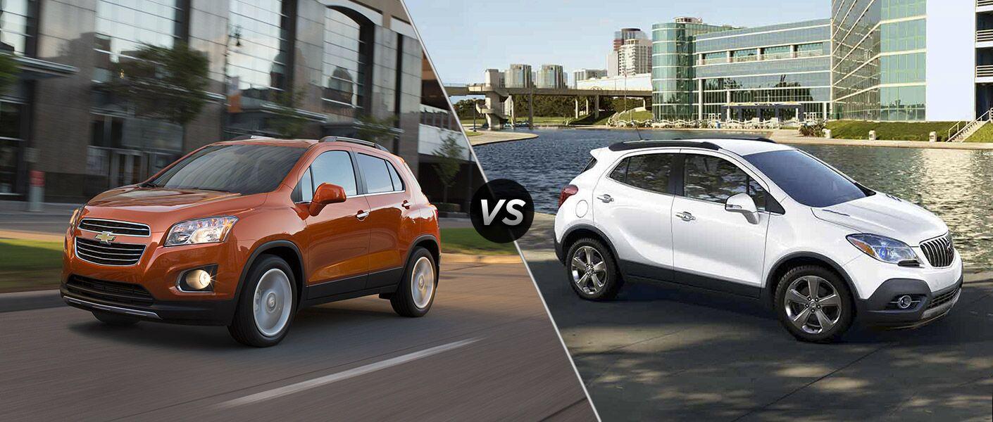 2016 Chevy Trax vs 2016 Buick Encore