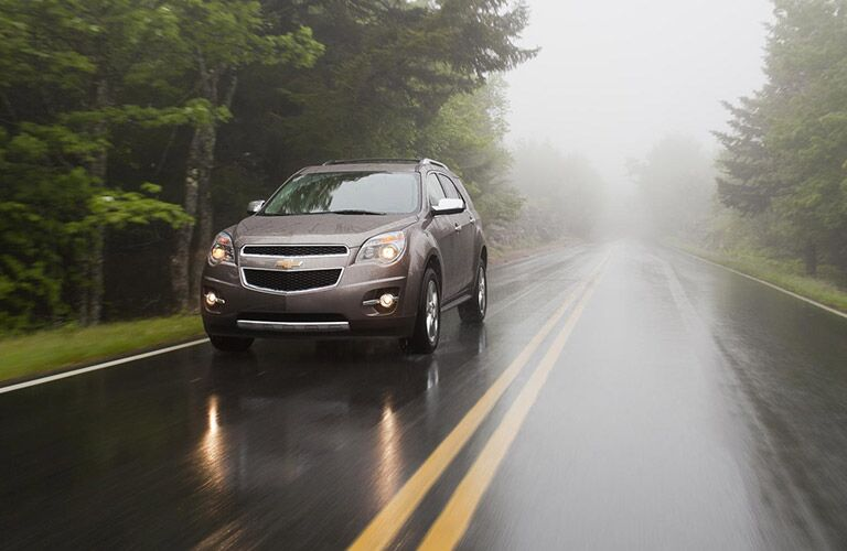 gray 2016 Chevy Equinox