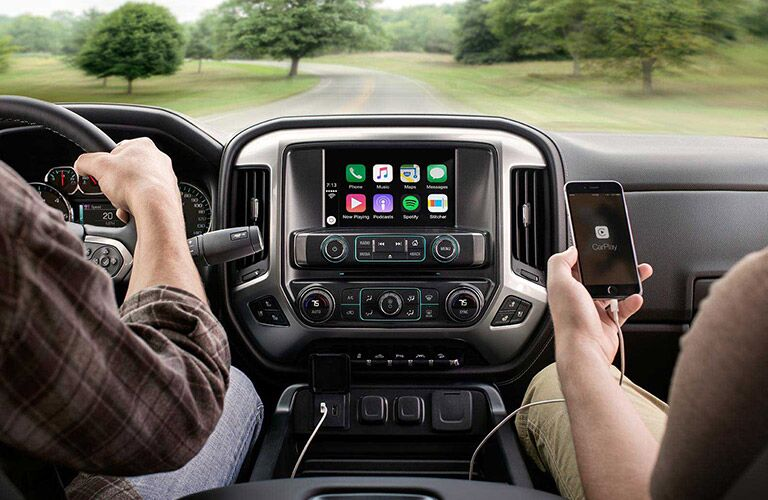 2016 Chevy Silverado 2500HD with apple carplay