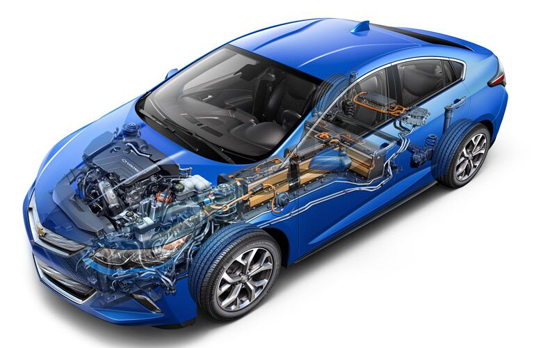 How many horsepower does the 2016 chevy volt have