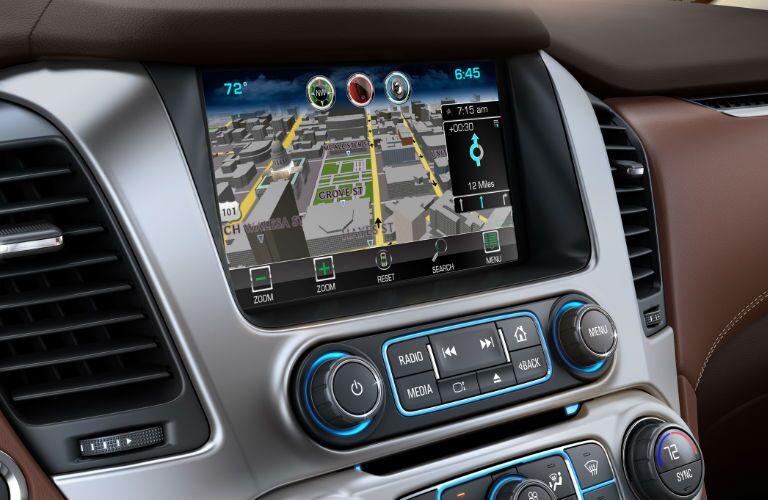 2016 Suburban navigation controls