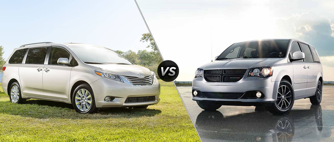 Innovative 2016 Toyota Sienna Vs 2016 Dodge Grand Caravan