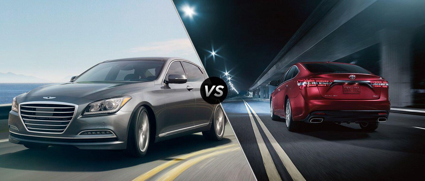 2015 Hyundai Genesis vs 2015 Toyota Avalon