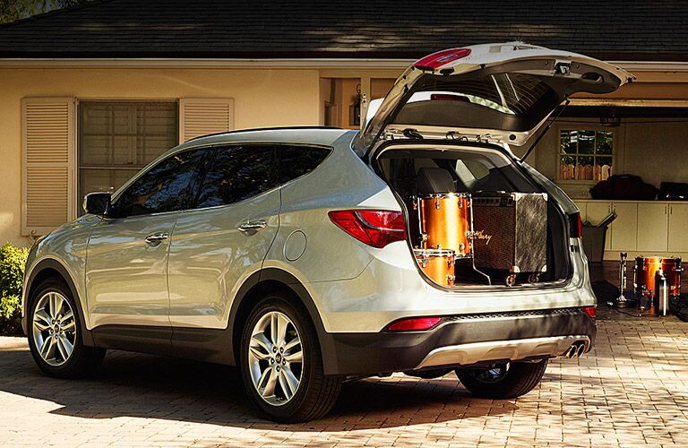 2016 Hyundai Santa Fe cargo capacity