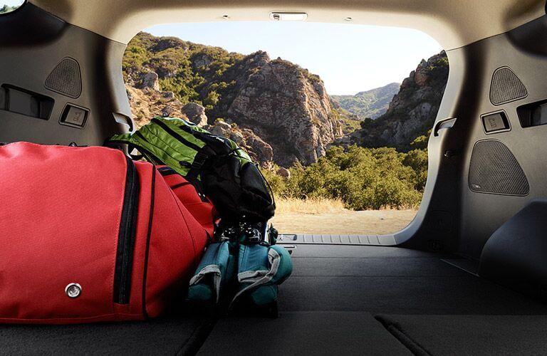 2016 hyundai Santa Fe sport maximum cargo capacity