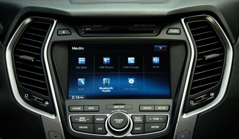 2016 Hyundai Santa Fe Sport Interior Specs