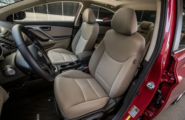 2016 Hyundai Elantra stain-proof interior upholstery