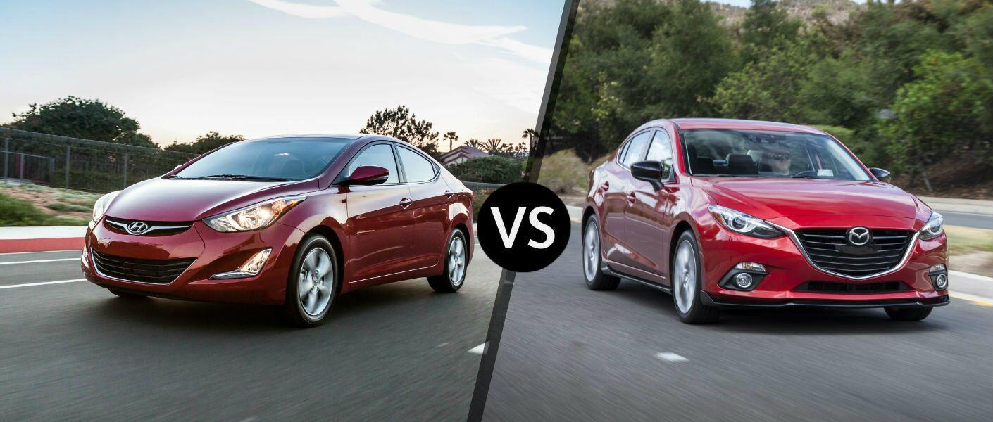 2016 Hyundai Elantra vs 2016 Mazda3