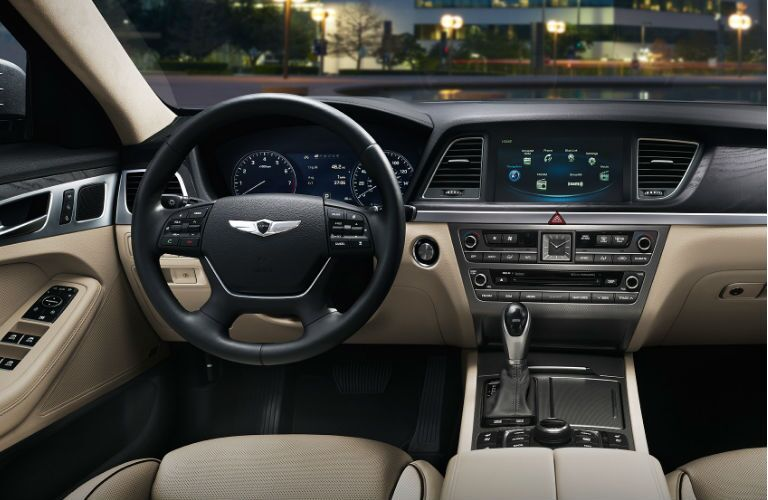 2016 hyundai genesis interior colors