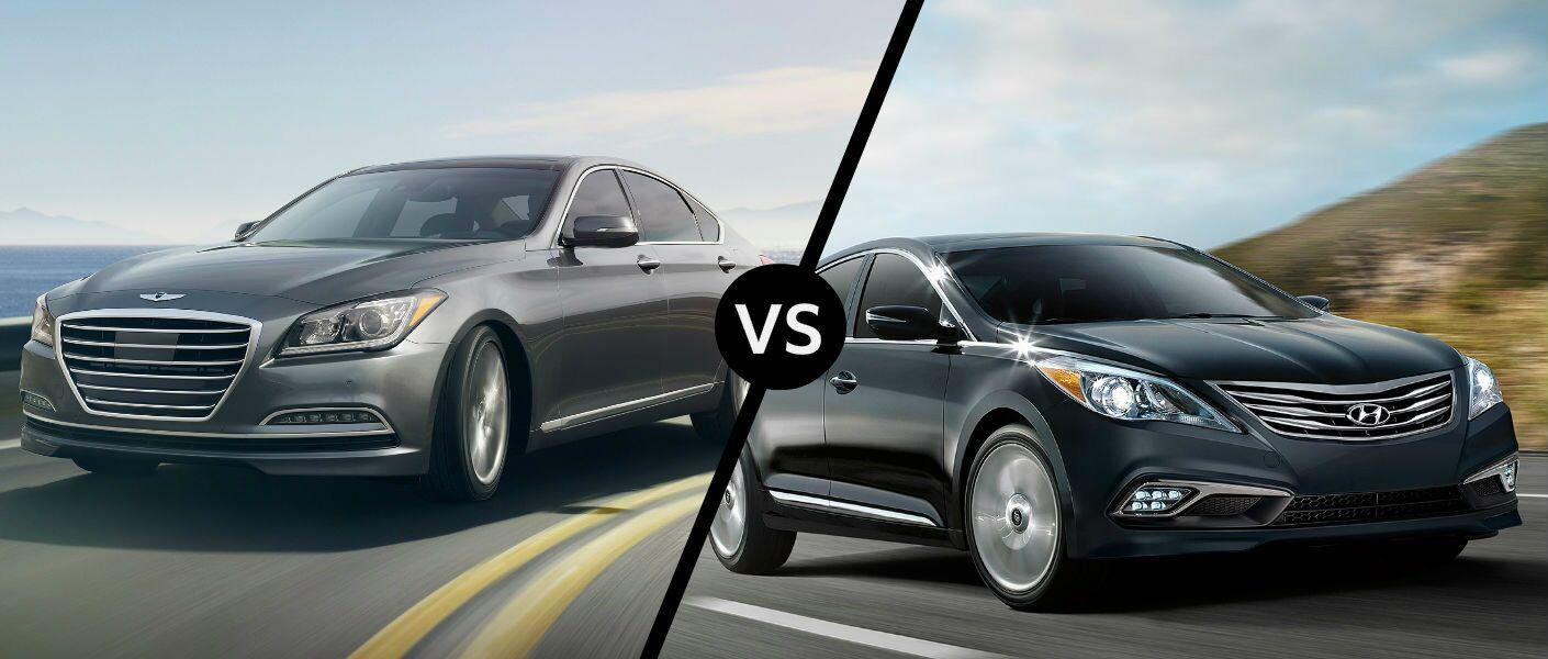 2016 Hyundai Genesis vs 2016 Hyundai Azera