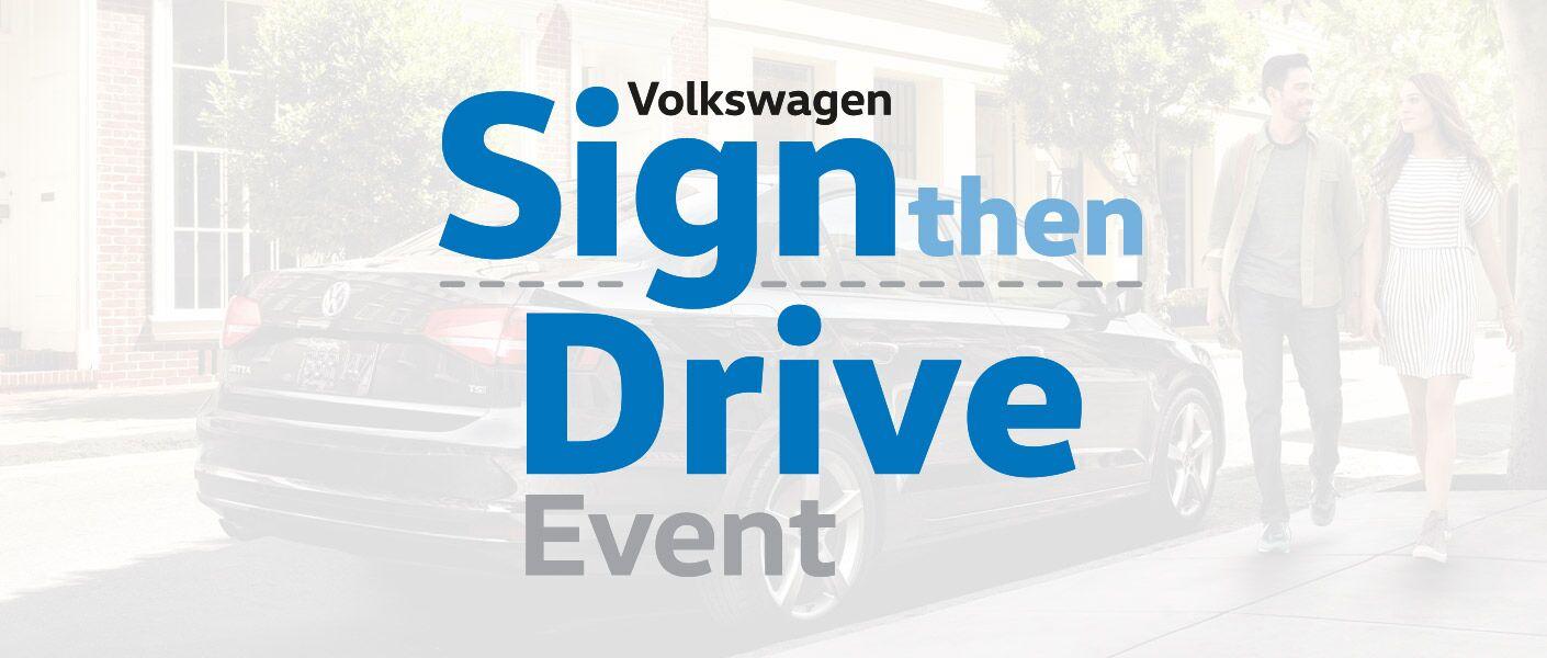 Volkswagen Sign Then Drive Torrance CA