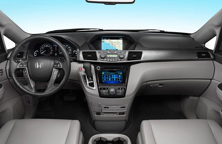 Interior of the 2016 Honda Odyssey