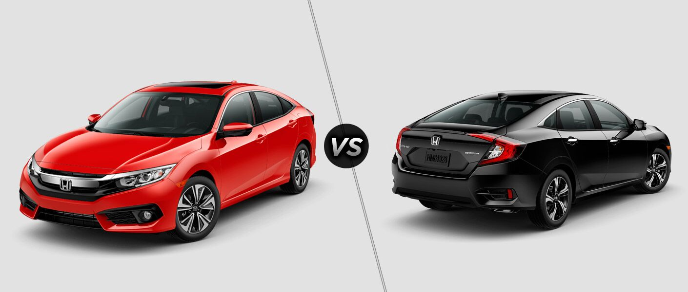 2016 honda civic ex l vs touring