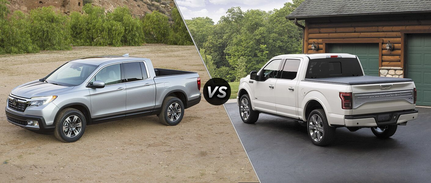 2017 honda ridgeline vs 2016 ford f 150. Black Bedroom Furniture Sets. Home Design Ideas
