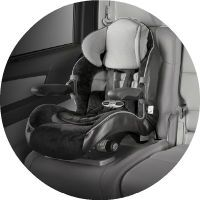 The 2016 Honda Odyssey comes with multiple car seat options
