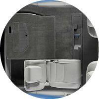 Honda Magic flat-folding seats