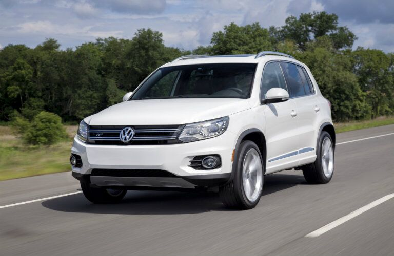 certified pre-owned Volkswagen Tiguan SUV design