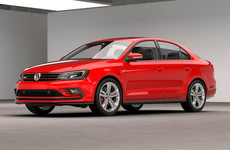 2016 Volkswagen Jetta GLI Santa Monica CA in red