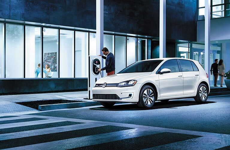 where to charge your vw e-golf santa monica