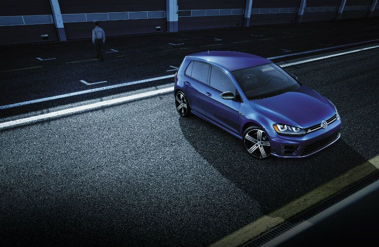 2016 vw golf r exterior design features