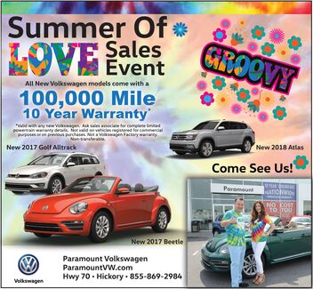 Summer of Love Sales Event