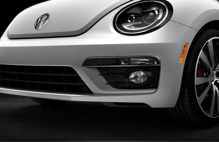 Optional Bi-Xenon headlights add a premium touch to the 2015 Volkswagen Beetle Convertible Allentown PA