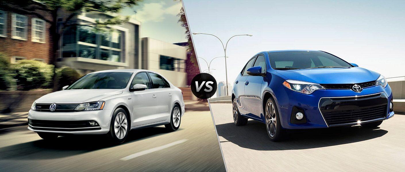 2015 Volkswagen Jetta vs 2015 Toyota Corolla