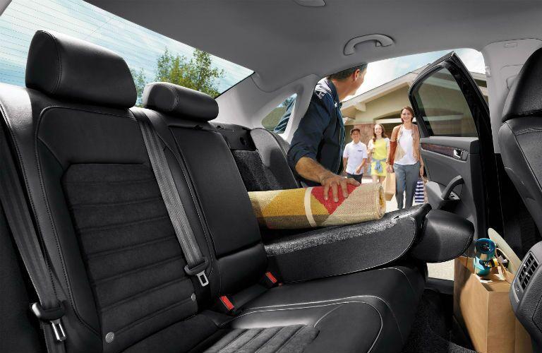 2016 VW Passat cargo volume
