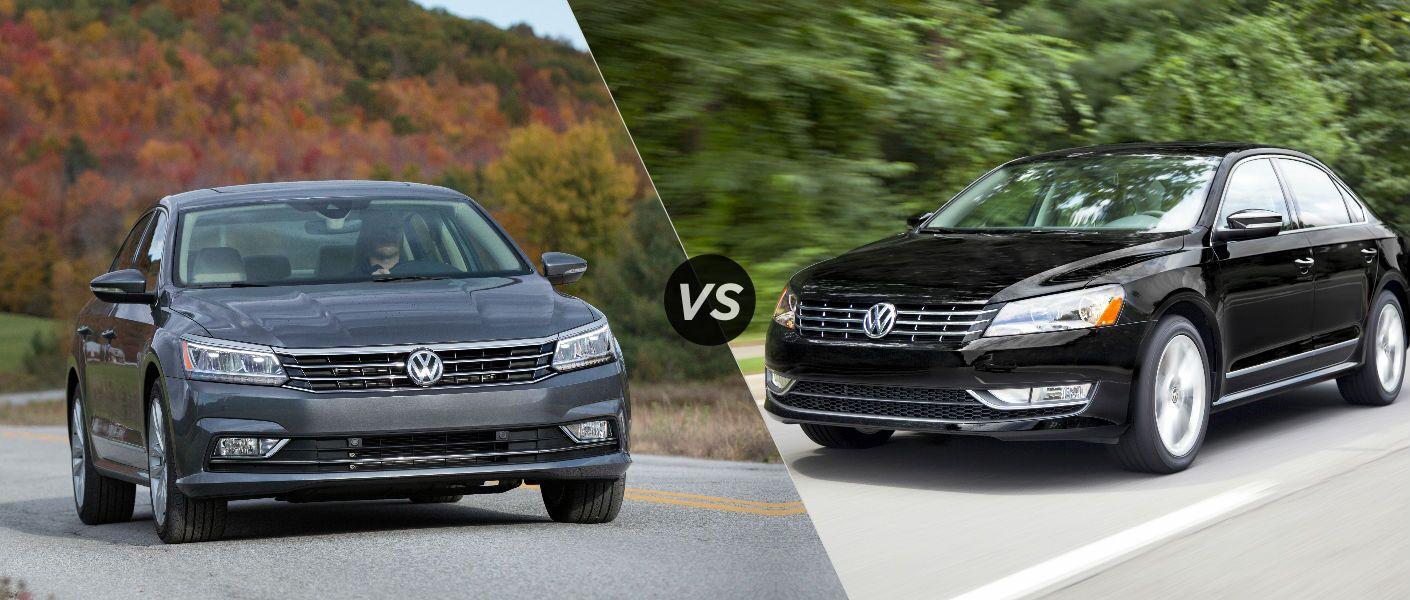 2016 Volkswagen Passat vs 2015 Volkswagen Passat