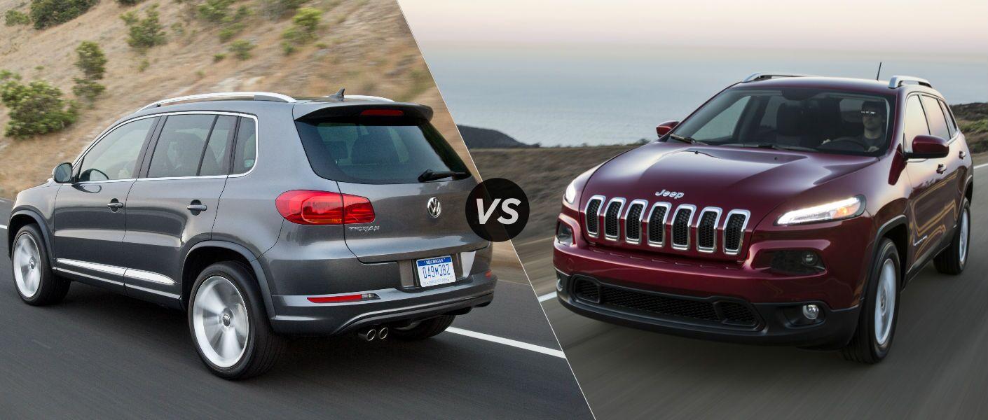 2016 Volkswagen Tiguan vs Jeep Cherokee