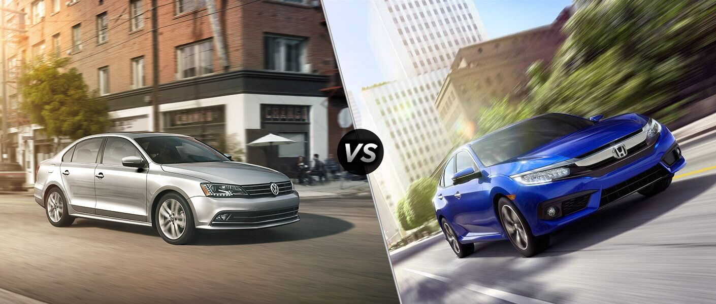 2016 VW Jetta vs 2016 Honda Civic
