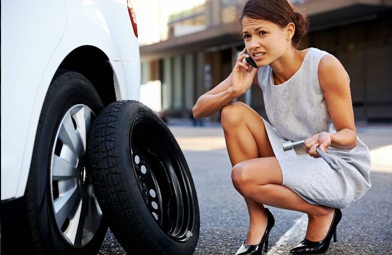 Quick tire repair in Houston TX