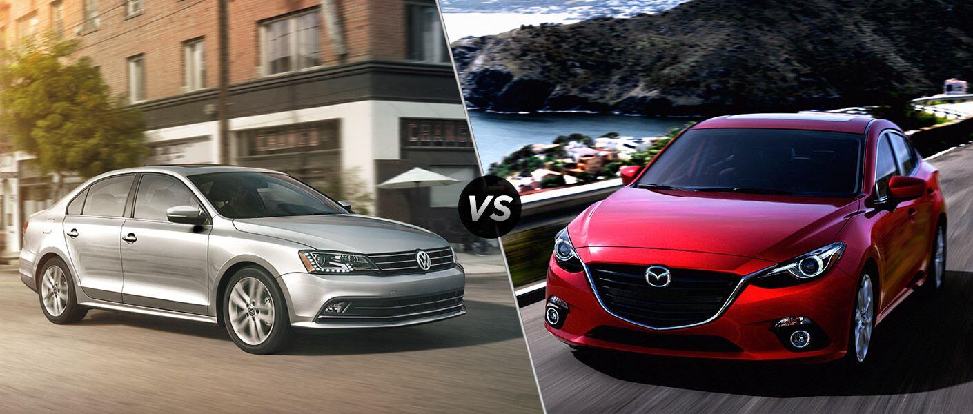 2016 Volkswagen Jetta vs 2016 Mazda 3