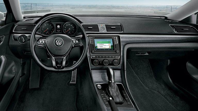 2016 Volkswagen Passat vs 2016 Mazda 6 interior passenger space