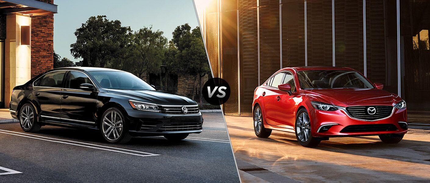 2016 Volkswagen Passat vs 2016 Mazda 6