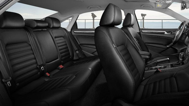 2016 Volkswagen Passat interior passenger space