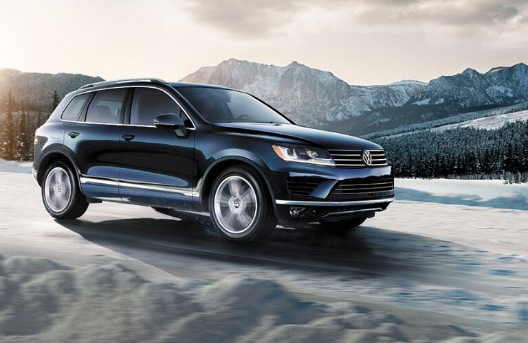 2016 VW Touareg AWD capabilities