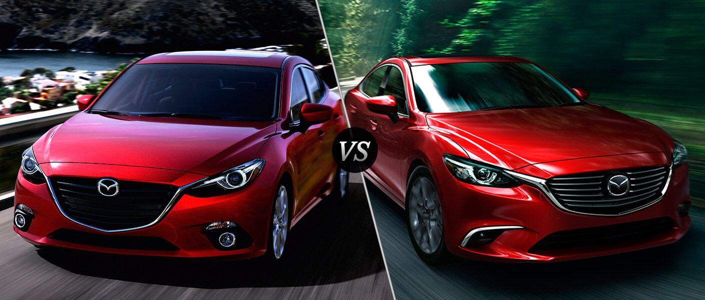 Mazda 3 Vs 6 - Mazda  Vs Mazda  Autos Post