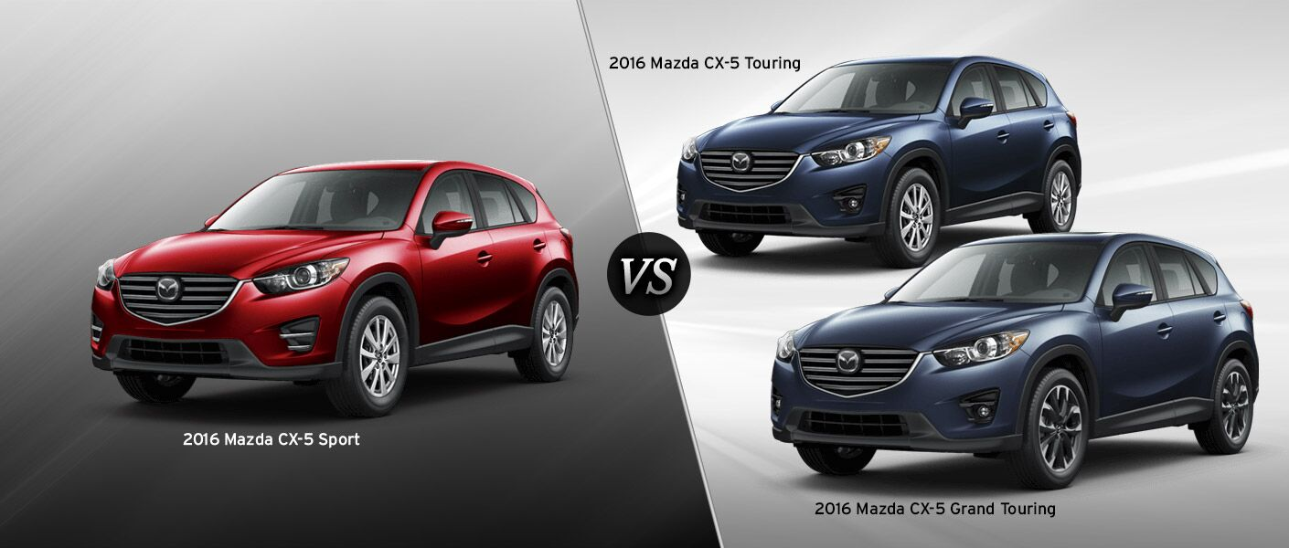 2016 mazda cx 5 trim comparison. Black Bedroom Furniture Sets. Home Design Ideas