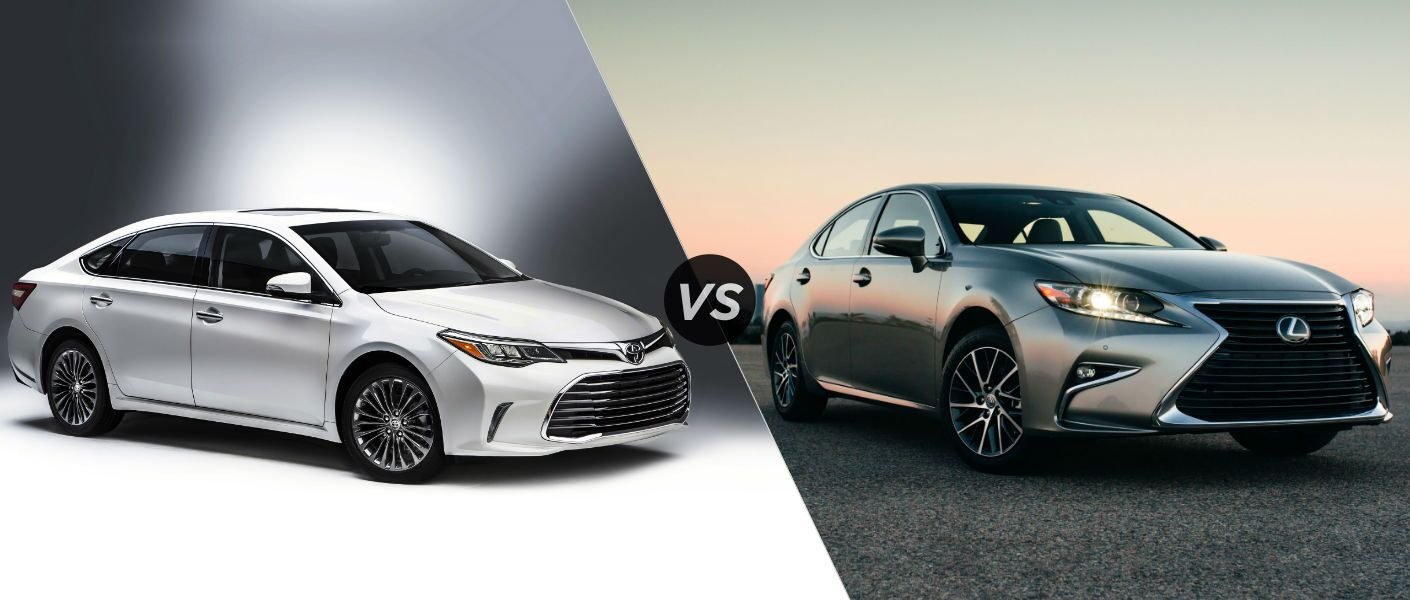 2015 Lexus Es 350 Vs 2015 Toyota Avalon Compare Reviews | 2016 Car ...