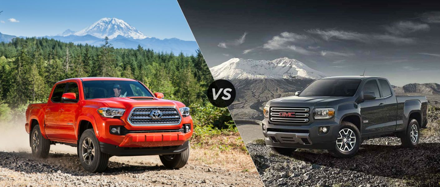 Gmc Canyon Vs Colorado - 2016 Toyota Tacoma vs 2016 GMC Canyon