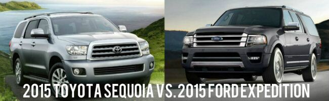 2015 Sequoia vs 2015 Ford Expedition