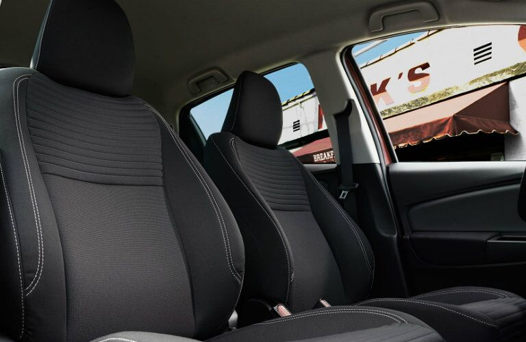 2016 Toyota Yaris seating