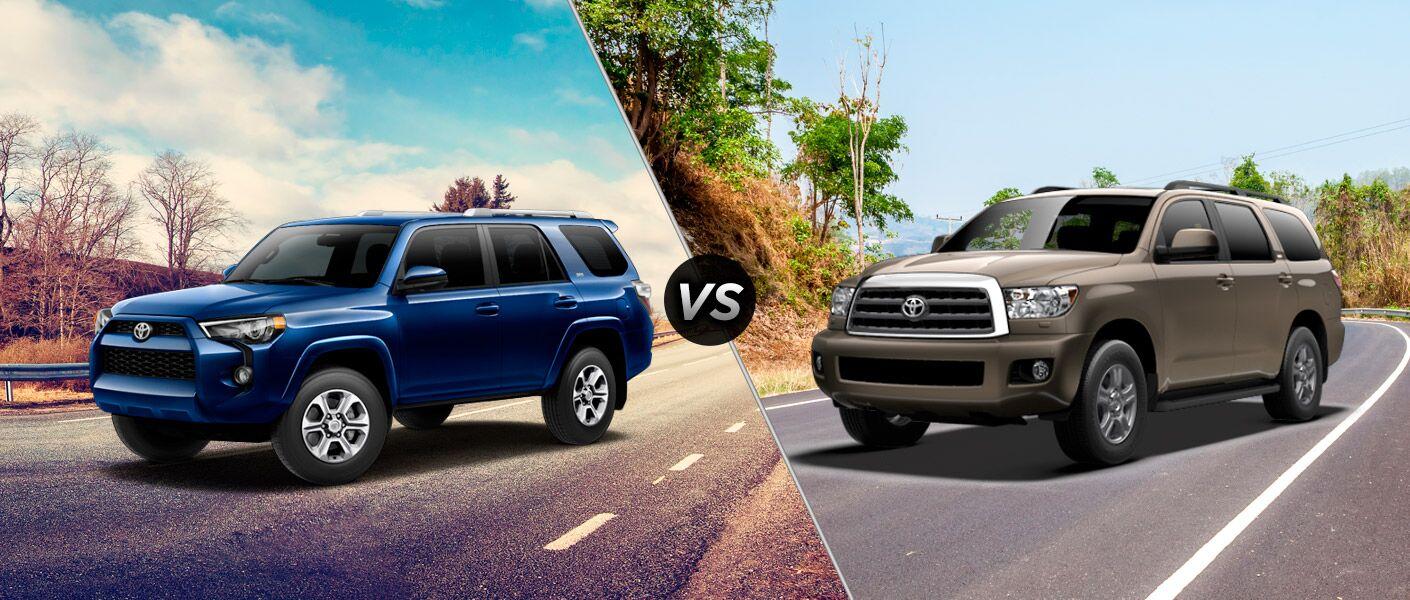 2016 Toyota 4Runner vs 2016 Toyota Sequoia