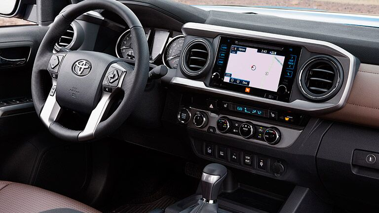2016 Toyota Tacoma interior Birmingham AL Serra Toyota