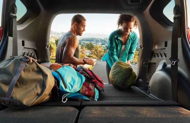 2016 Toyota RAV4 interior space