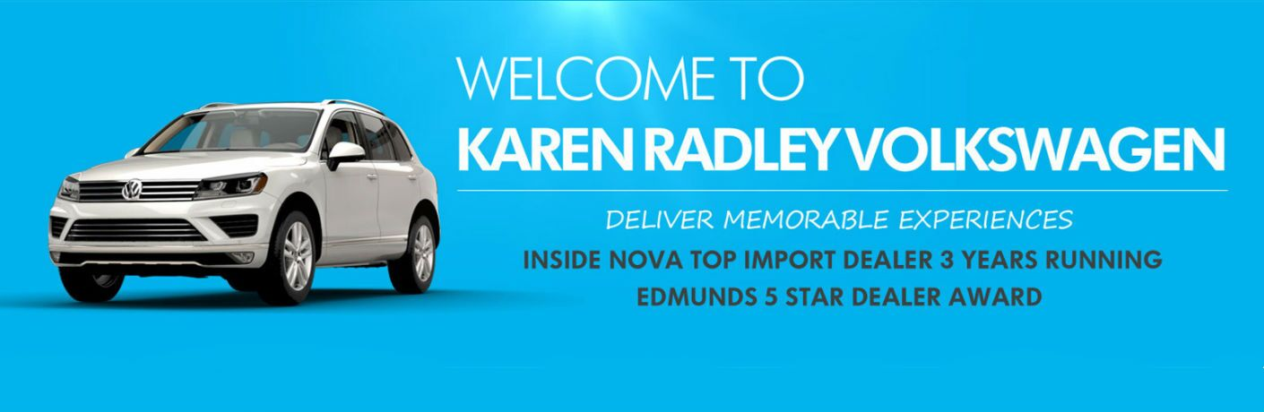 Areas We Serve Near Woodbridge VA at Karen Radley Volkswagen