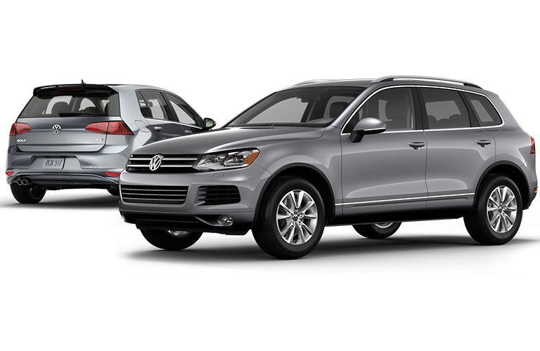 Silver Volkswagen Models