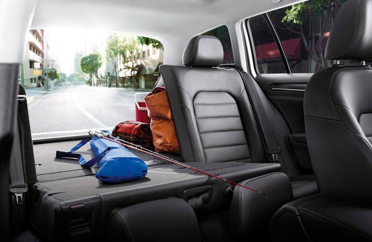 2016 VW Golf SportWagen Cargo Area