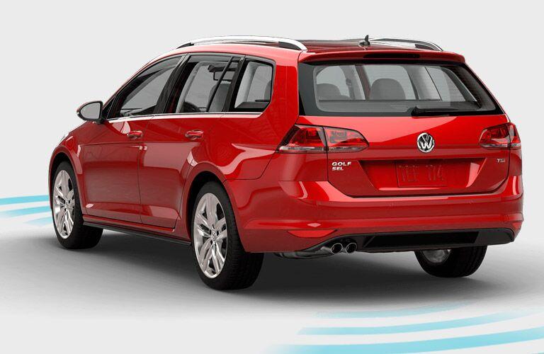 2016 Volkswagen Golf SportWagen Rear Bumper
